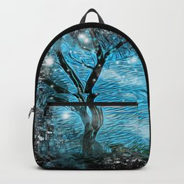 Magical ocean landscape Backpack