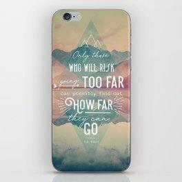 Adventure&Mountain iPhone Skin