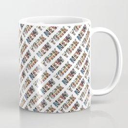 New York (diagonal typography) Coffee Mug