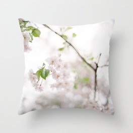Delicate and Dainty Throw Pillow