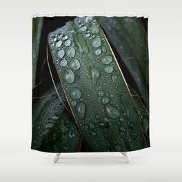 Bejeweled Blades Shower Curtain