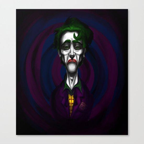 Sad Joker Canvas Print