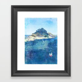 The Niemon Island Framed Art Print