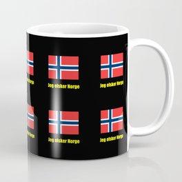 flag of norway 5 snow,scandinavia,scandinavian,norwegian,oslo Coffee Mug