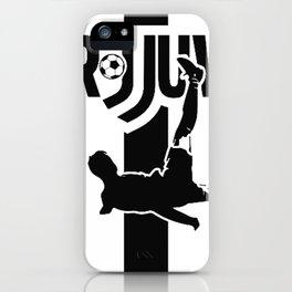 CR7 Ronaldo Juve Juventus iPhone Case