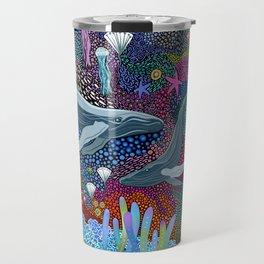 Whale Ocean Life Travel Mug