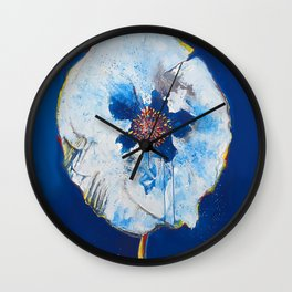 Life in Blue  Wall Clock