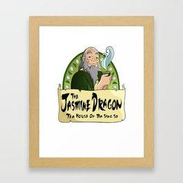The Jasmine Dragon Tea House Framed Art Print