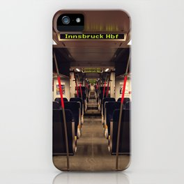 Innsbruck Train iPhone Case