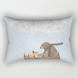the cloud balloon Rectangular Pillow