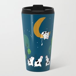 A cow jump over the moon Travel Mug