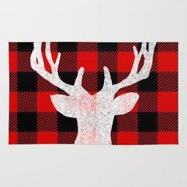 Deer Flannel Rug
