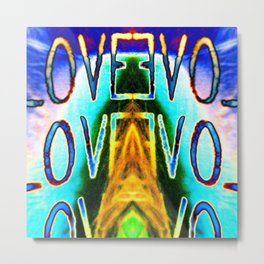 LOVE EVOL - from the 'Love Madly' series Metal Print