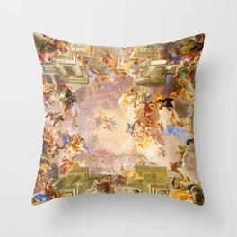 Sant'Ignazio di Loyola in Rome Throw Pillow
