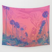 california Wall Tapestries featuring California by Cale potts Art