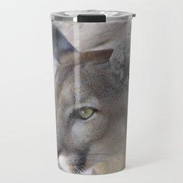 Focused Feline Travel Mug