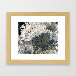 Acrylic Pour 2 Framed Art Print