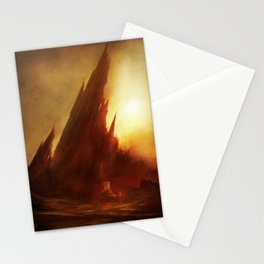 Mount Abaddon Stationery Cards