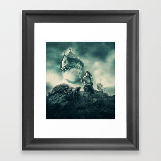 The Night's Watch Framed Art Print