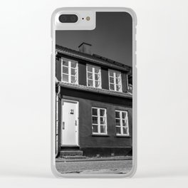 Charming houses, Aarhus Clear iPhone Case