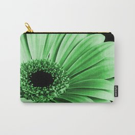 Gerbera Green Carry-All Pouch