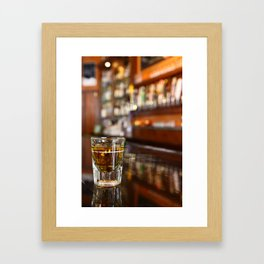 A Shot of Whisky Framed Art Print