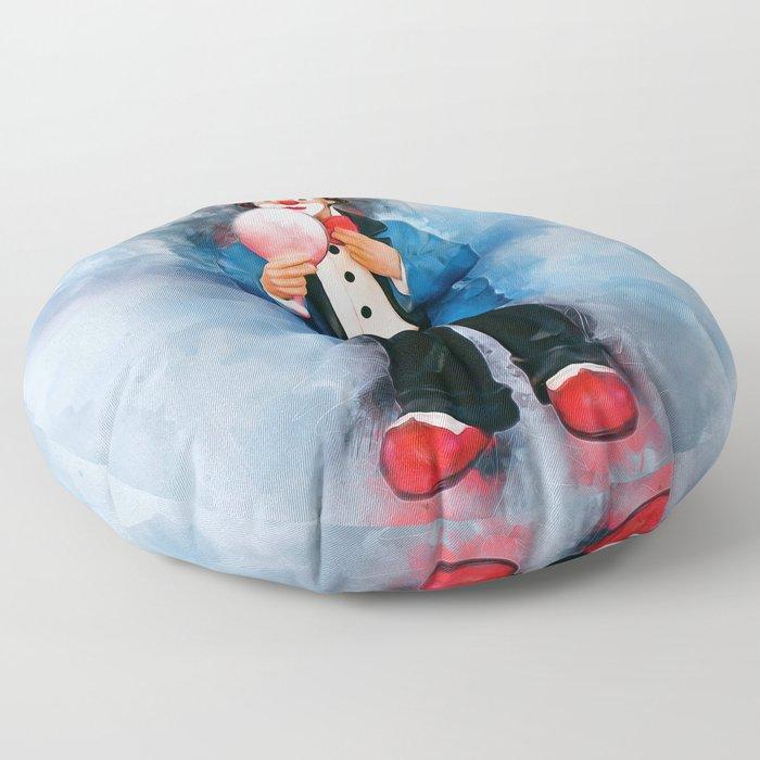 The Clown Floor Pillow