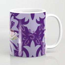 Victorian Tea Extra Large Set Purple by Lorloves Design Coffee Mug
