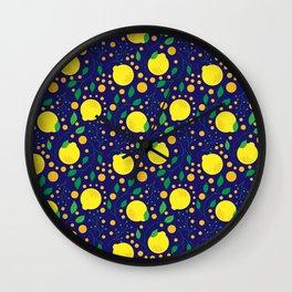 Lovely Lemons Wall Clock