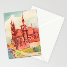 Vilnius - St. Anne's  Stationery Cards