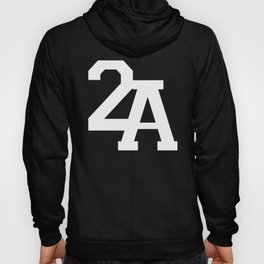 2A in White Hoody