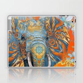 The Happy Blue Elephant Laptop & iPad Skin