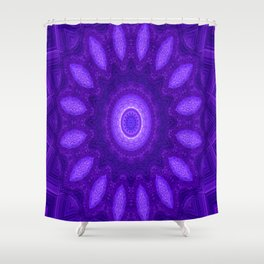 Circle of Spirituality.... Shower Curtain