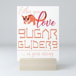 Sugar Glider Lover Mini Art Print