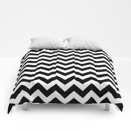 Black Safari Chevron Comforters