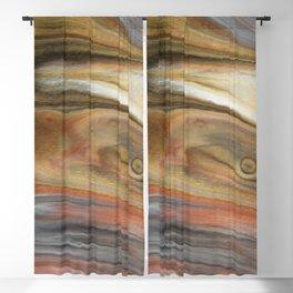 Fluid Nature - Metallic Flows - Abstract Acrylic Art Blackout Curtain