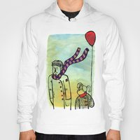 ballon Hoodies featuring Scarf and ballon by GAiquel