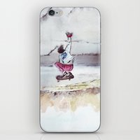 skate iPhone & iPod Skins featuring Skate by Nuez Rubí