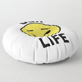 Ugh Life Funny Quote Floor Pillow