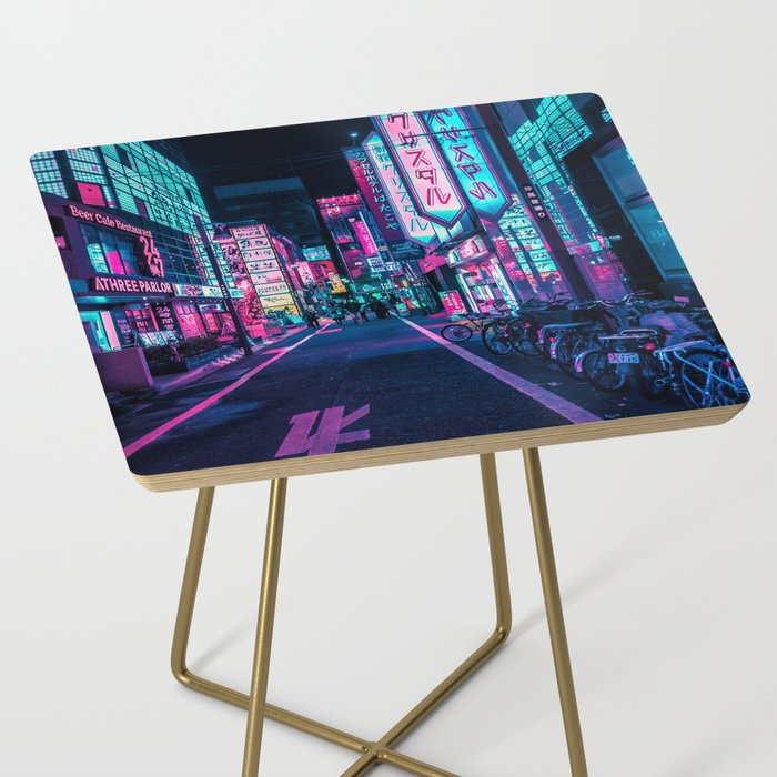 A Neon Wonderland called Tokyo Side Table