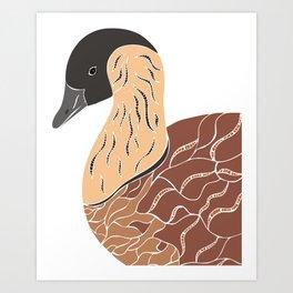 Nene Goose Art Print
