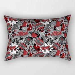 Roller Derby Slam Rectangular Pillow