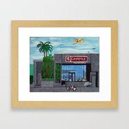 Chipotle - Hollywood Framed Art Print
