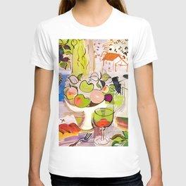 Mediterranean Still Life by Raoul Dufy T-shirt