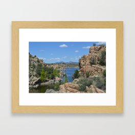 Arizona Landscape I Framed Art Print