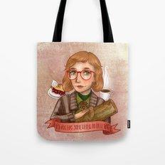 Log Lady - My Log Has Something To Tell You Tote Bag