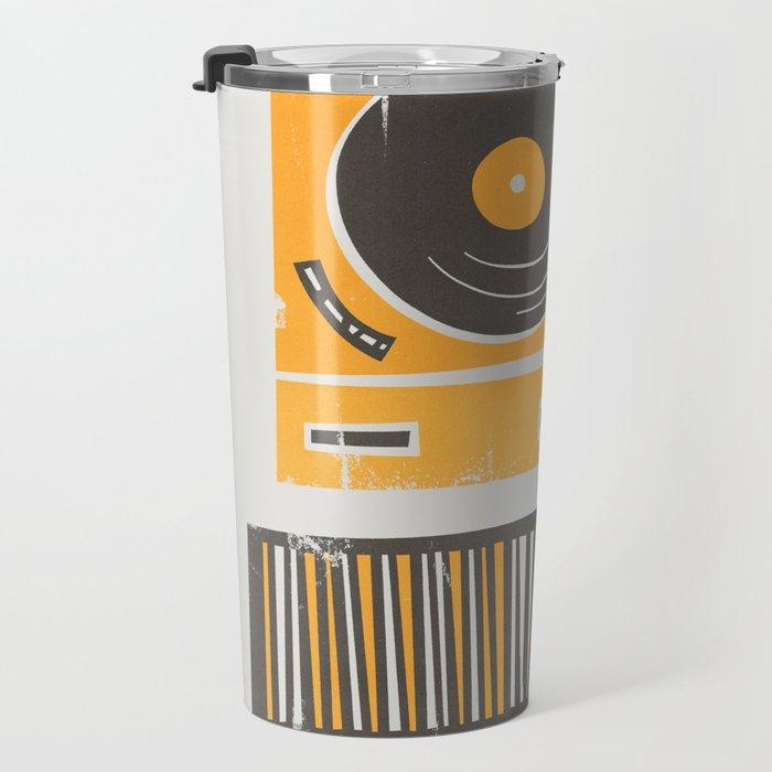 Vinyl Deck Travel Mug