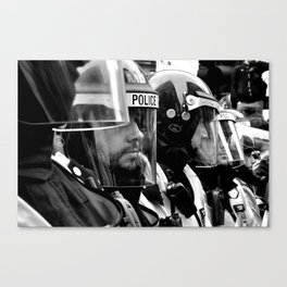 The Visor Line Canvas Print