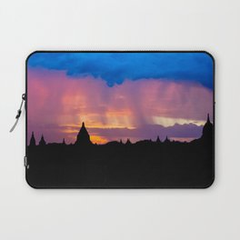 Sunset in Bagan, Myanmar Laptop Sleeve