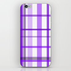 Shades of Purple and White iPhone Skin